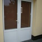 Nasze realizacje I Drzwi zewnętrzne w kolorze białym